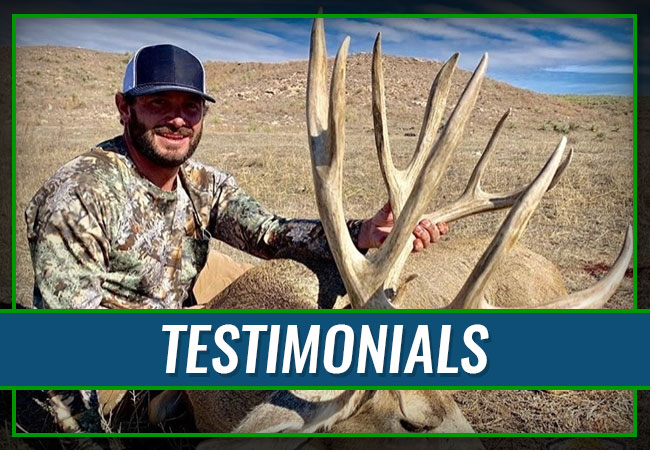 Eastern Colorado Outdoors Testimonials